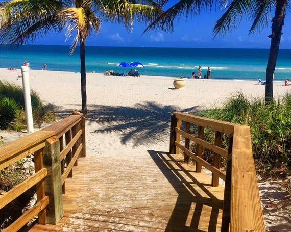 boardwalk-leading-to-beach-South-Florida-Staycation