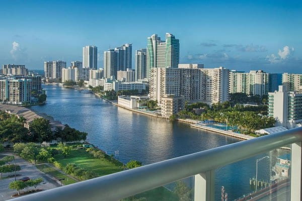 view of hallandale florida luxury beach vacation rentals